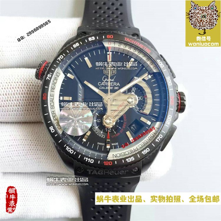 【HBBV6超一比一复刻手表】泰格豪雅超級卡萊拉CAV5185.FT6020男士机械腕表