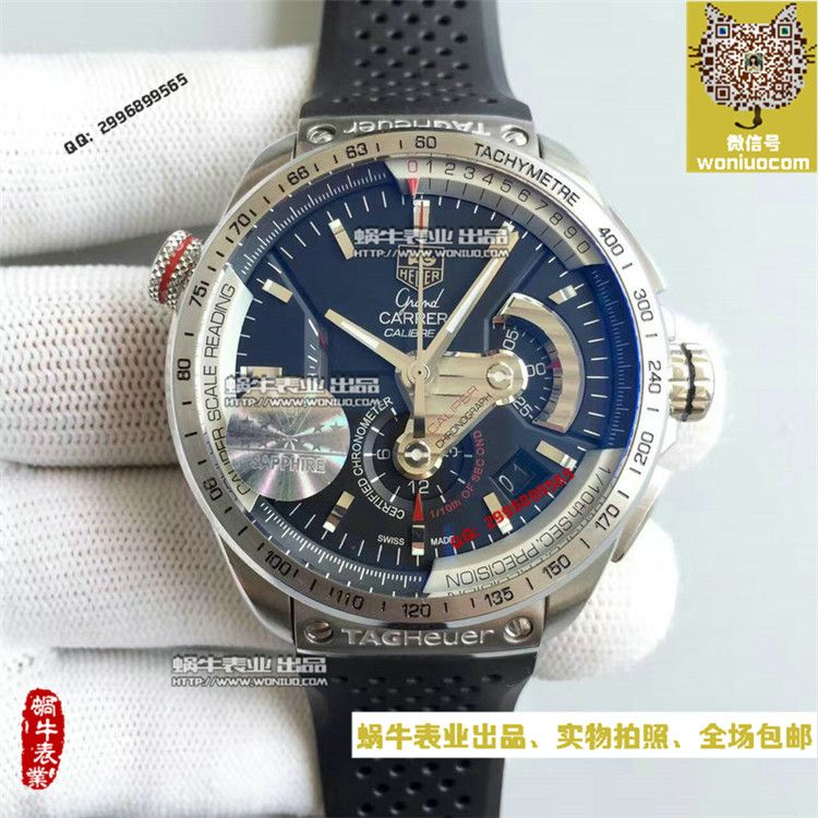 【HBBV6超A复刻手表】泰格豪雅超级卡莱拉系列CAV5115.BA0902腕表