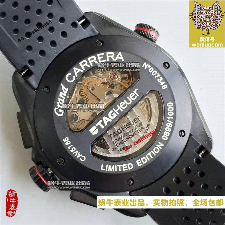 【HBBV6超一比一高仿手表】泰格豪雅超級卡萊拉CAV5185.FT6020男士机械腕表 / TG003
