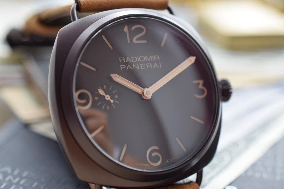 【视频评测SF一比一超A高仿手表】沛纳海RADIOMIR系列PAM00504腕表 / SFPAMB00504