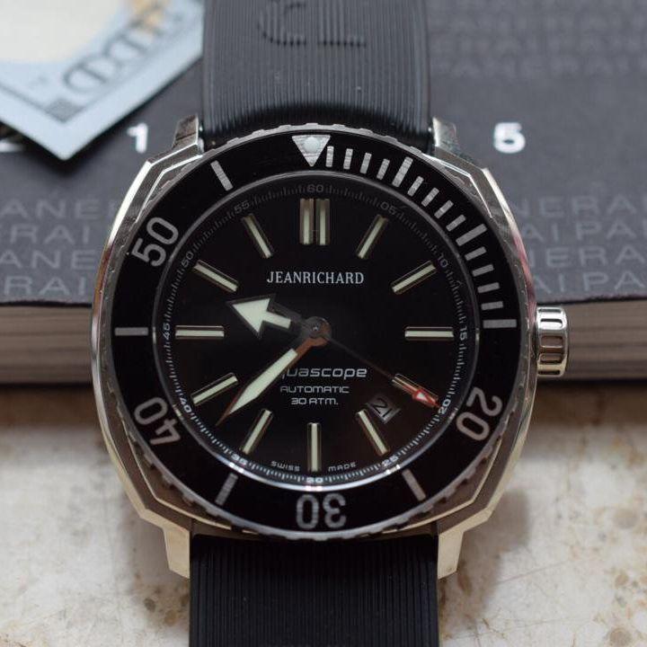 【实拍图鉴赏】1:1顶级复刻手表之尚维沙 Aquascope系列 60400-11D705-FK4A价格报价