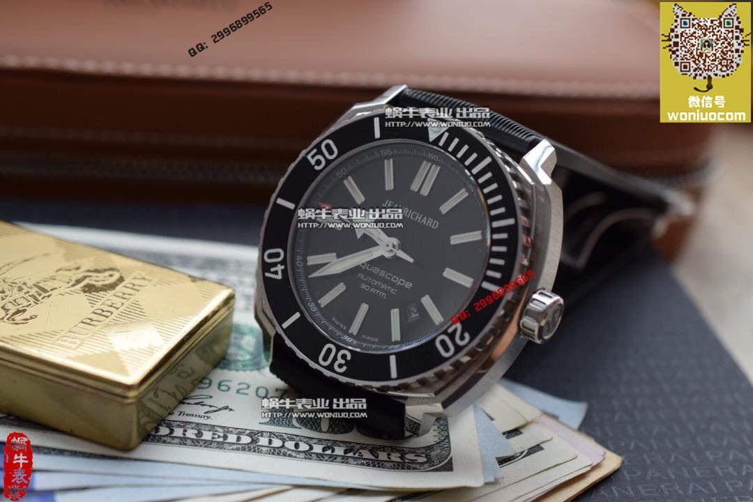 【实拍图鉴赏】1:1顶级复刻手表之尚维沙 Aquascope系列 60400-11D705-FK4A