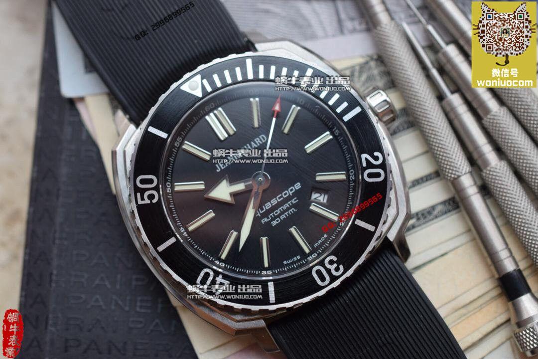 【实拍图鉴赏】1:1顶级复刻手表之尚维沙 Aquascope系列 60400-11D705-FK4A / JC03