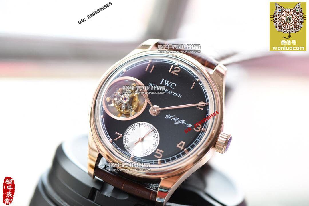 【实拍图鉴赏】TF厂1:1复刻手表之万国葡萄牙系列IW546301  顶级陀飞轮男表! / WG259