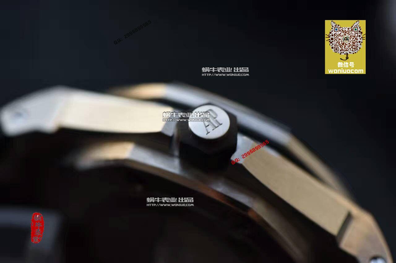 【实拍图鉴赏】N厂神器-爱彼AP皇家橡树离岸经典15703ST.OO.A002CA.01男士手表