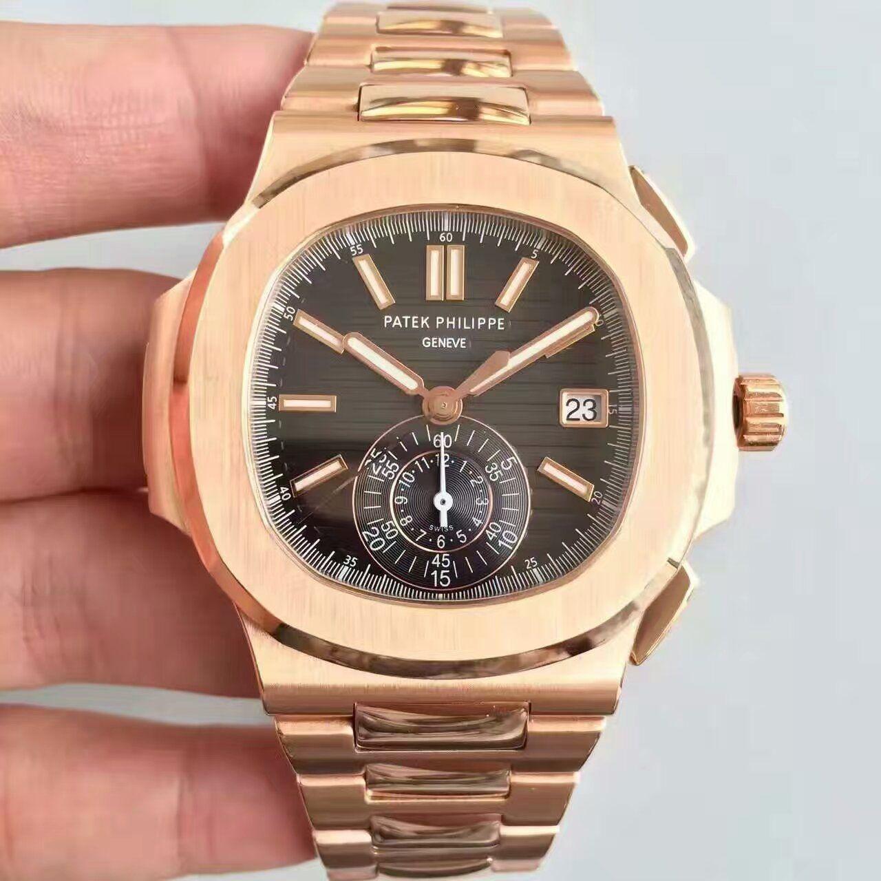 【BP厂1:1高仿手表】百达翡丽运动系列5980/1R-001腕表价格报价