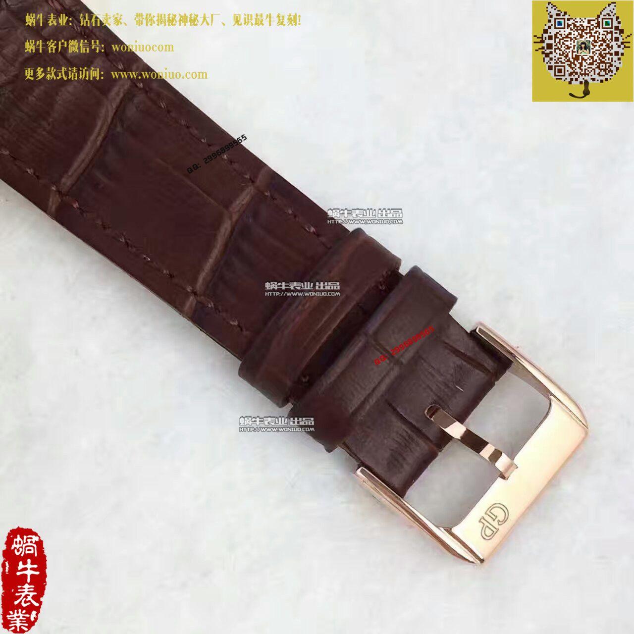 【TF厂一比一高仿手表】芝柏男表系列49544-52-231-BB60腕表 / JP04