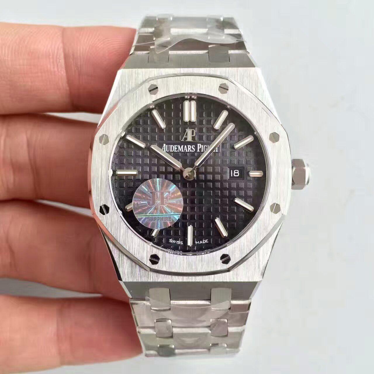 【JF厂一比一精仿手表】爱彼皇家橡树系列67650ST.OO.1261ST.01女士腕表