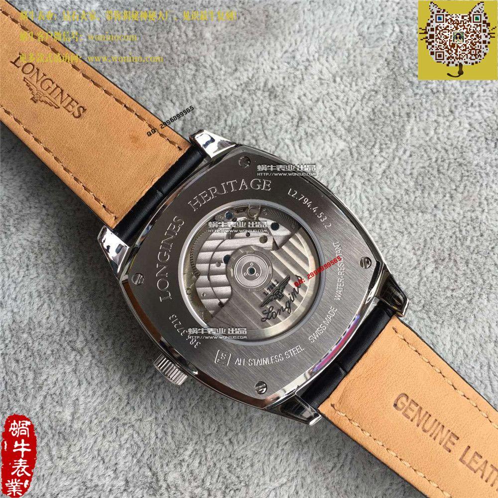 【TF厂一比一复刻手表】浪琴复古传统经典复刻系列  L2.794.4.53男表 / L022A