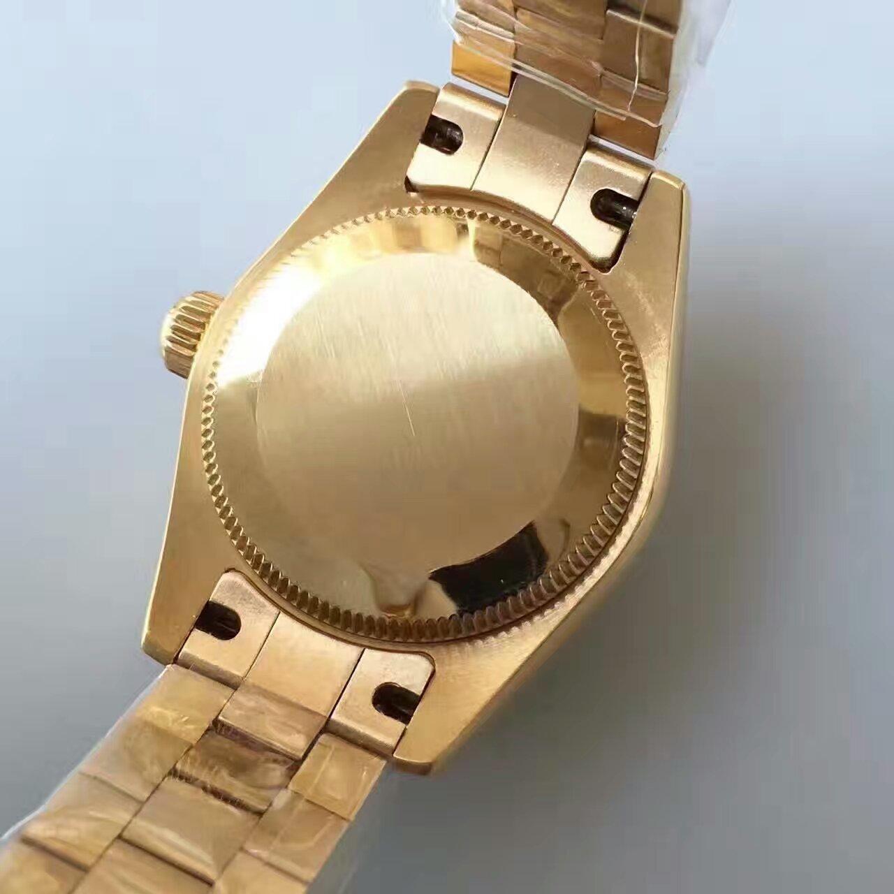 【台湾厂一比一复刻手表】劳力士女装日志型系列白色表盘女士腕表 / R149