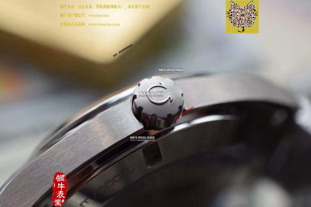 【KW厂一比一超A高仿手表】欧米茄海马系列231.10.42.21.01.001黑面绿字231.10.42.21.01.001男表 / M136