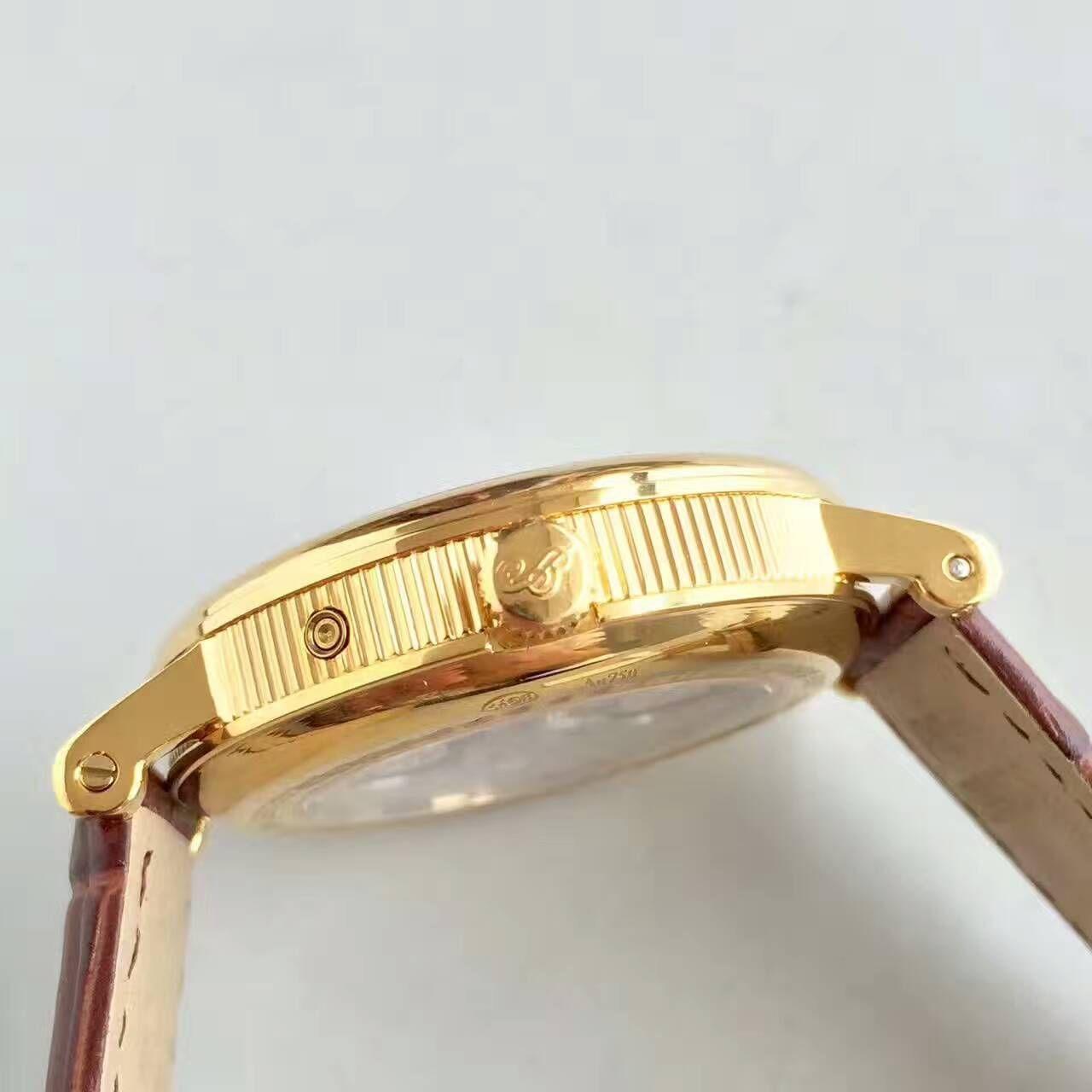 【VF厂顶级一比一复刻手表】宝玑经典系列7137BA/11/9V6 黄金月相腕表