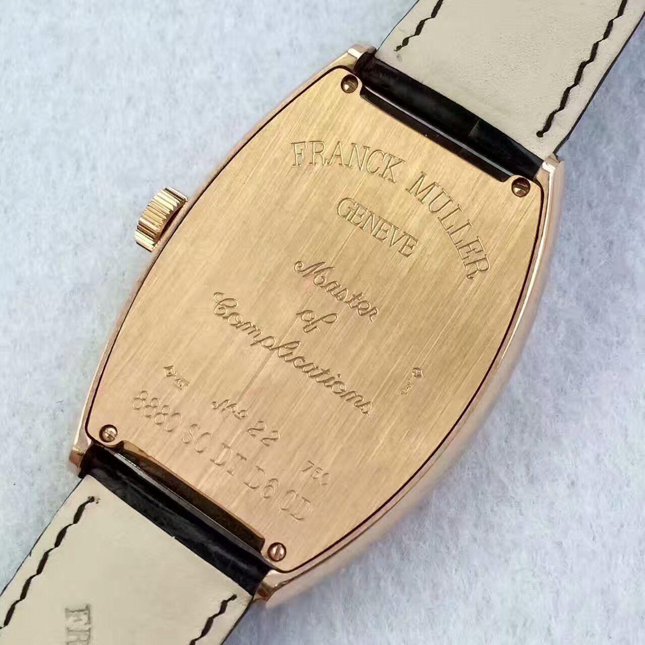 FM厂一比一复刻手表法兰克.勒穆男表 / 法穆兰FL07