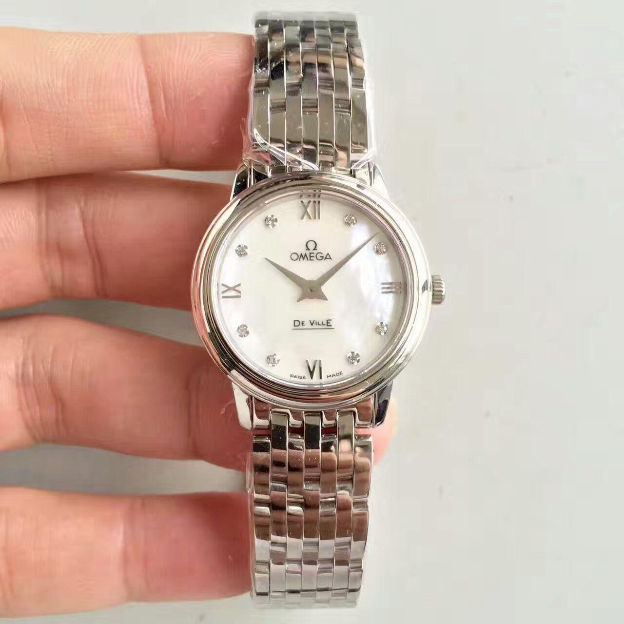【MK厂一比一超A高仿手表】欧米茄碟飞系列424.10.33.20.05.001女士腕表 价格报价