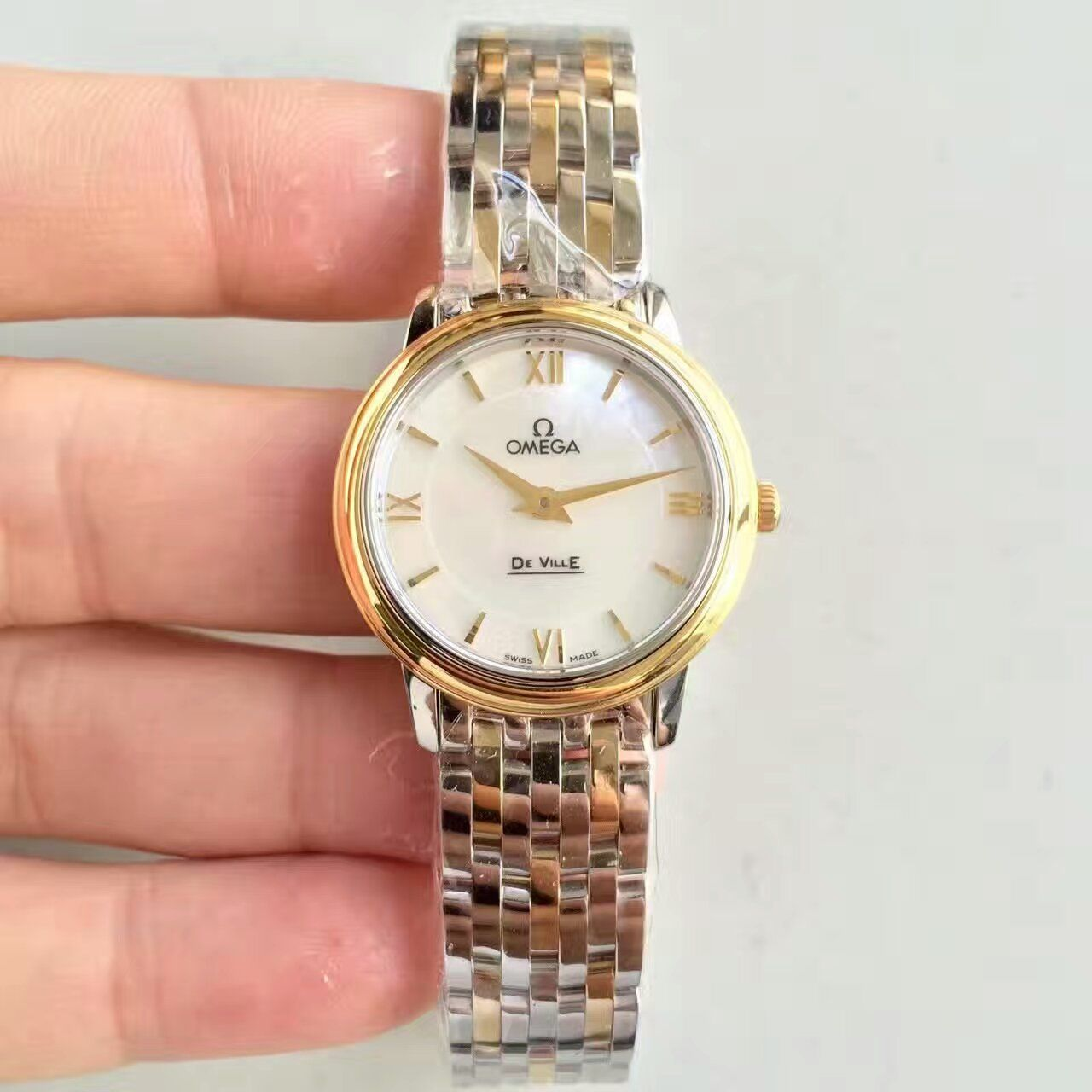 【MK厂一比一超A高仿手表】欧米茄碟飞系列424.10.33.20.05.001女士腕表  / M268