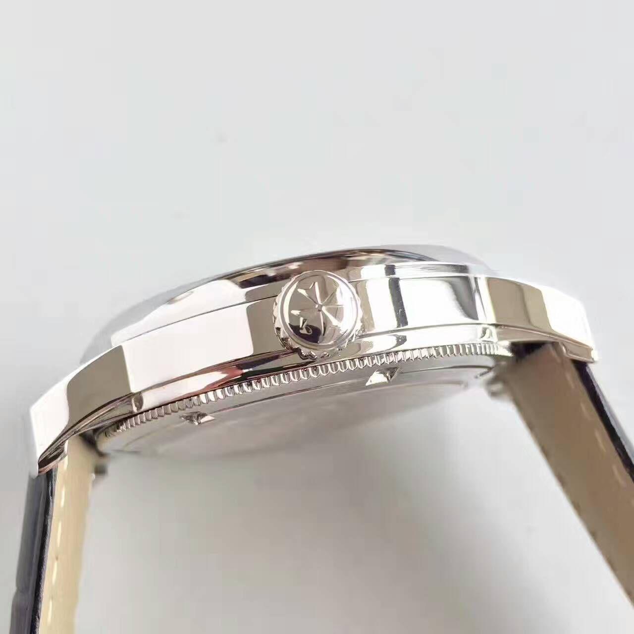 【LH厂顶级1:1精仿手表】江诗丹顿传袭系列6500T/000P-B100真陀飞轮腕表