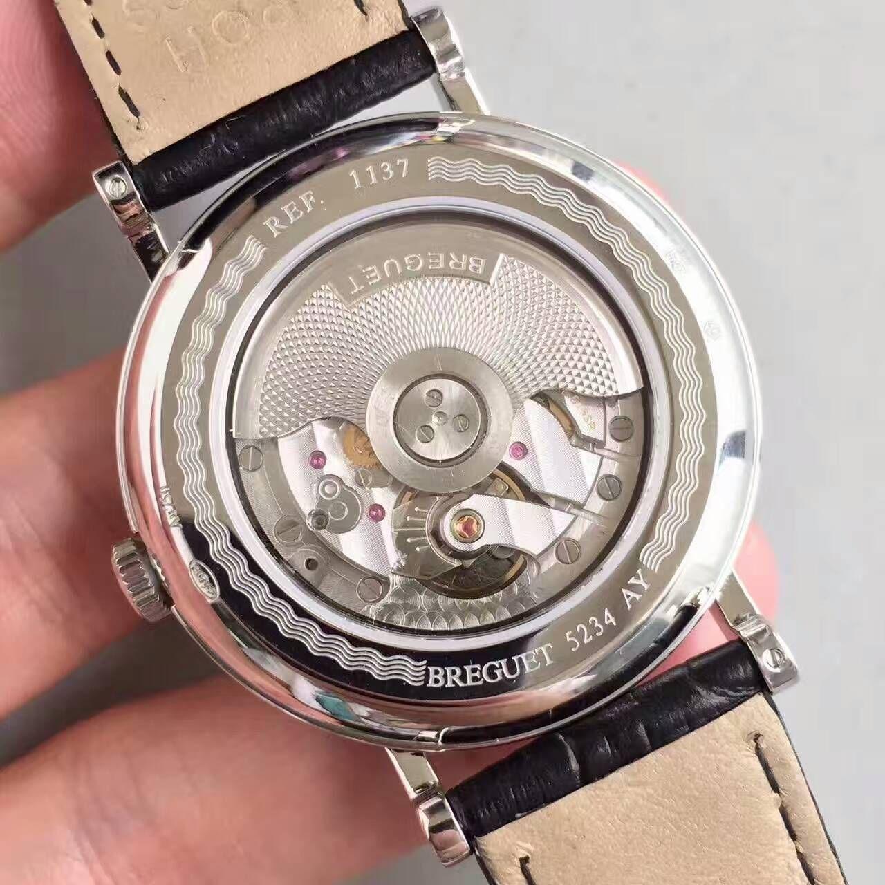 VF厂顶级复刻宝玑Classique复古系列月相腕表
