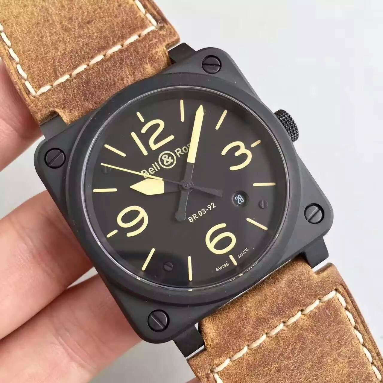 【BR厂超A1:1精仿手表】柏莱士AVIATION系列BR 03-92 HERITAGE腕表