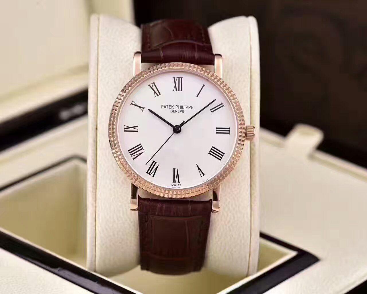【HK厂一比一精仿手表】百达翡丽古典表系列5120G-001腕表