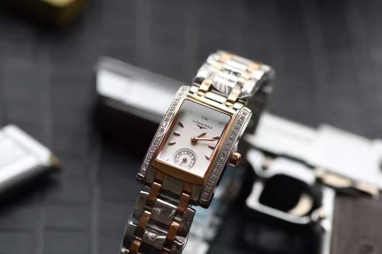 【KZ台湾厂超A高仿手表】浪琴优雅系列L5.155.5.71.7女士石英腕表