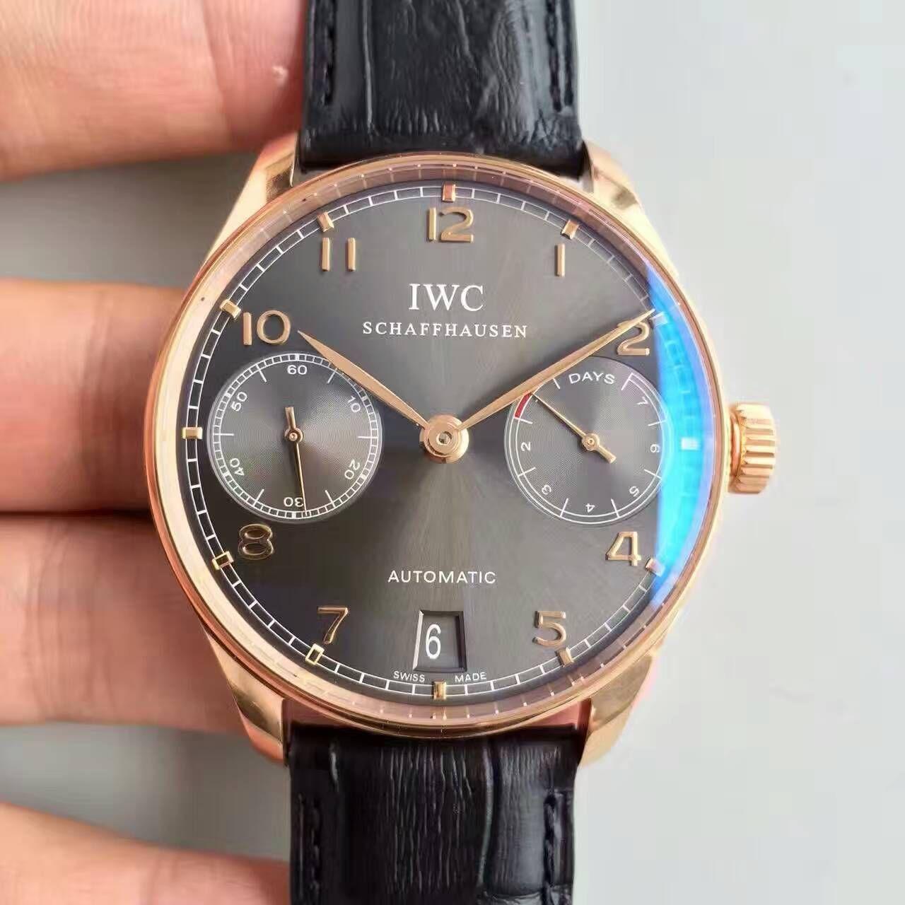 【ZF厂销量神器】万国葡萄牙系列《万国七日链》IW500702腕表 / WG229