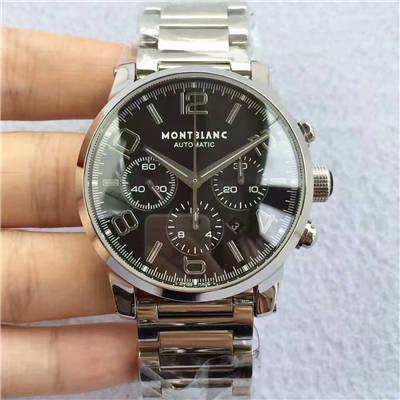 【台湾厂顶级复刻手表】Montblanc万宝龙时光行者系列09668腕表