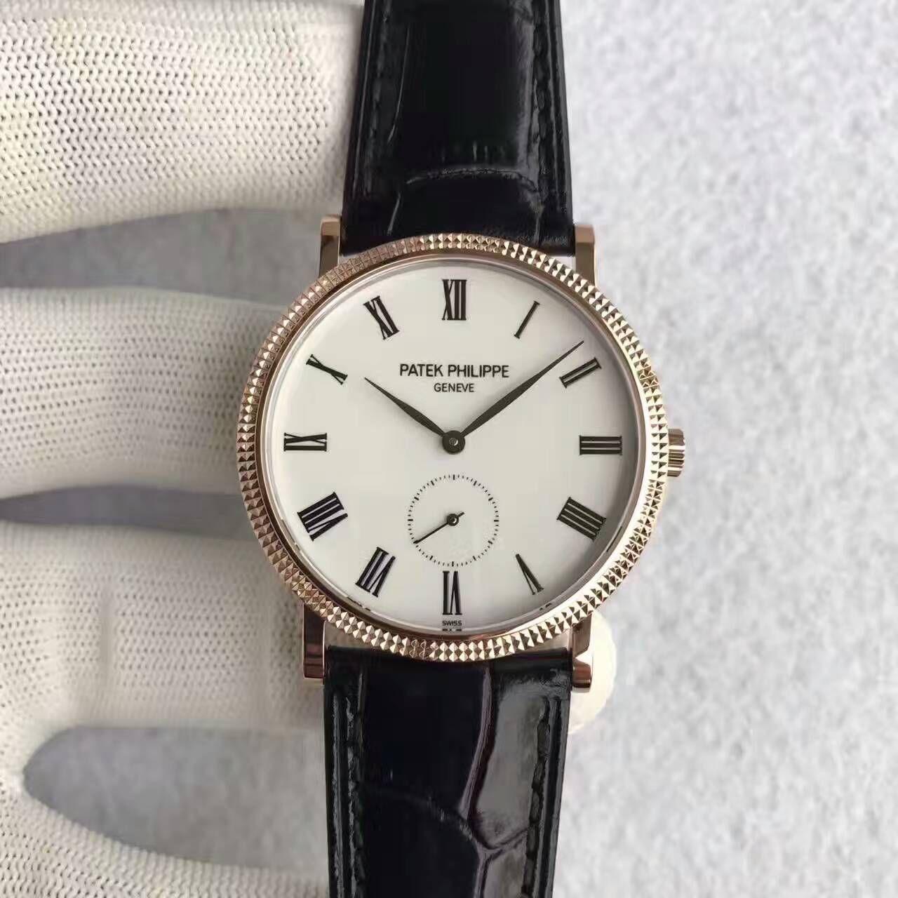【台湾厂一比一超A高仿手表】百达翡丽古典表系列5119R-001腕表价格报价
