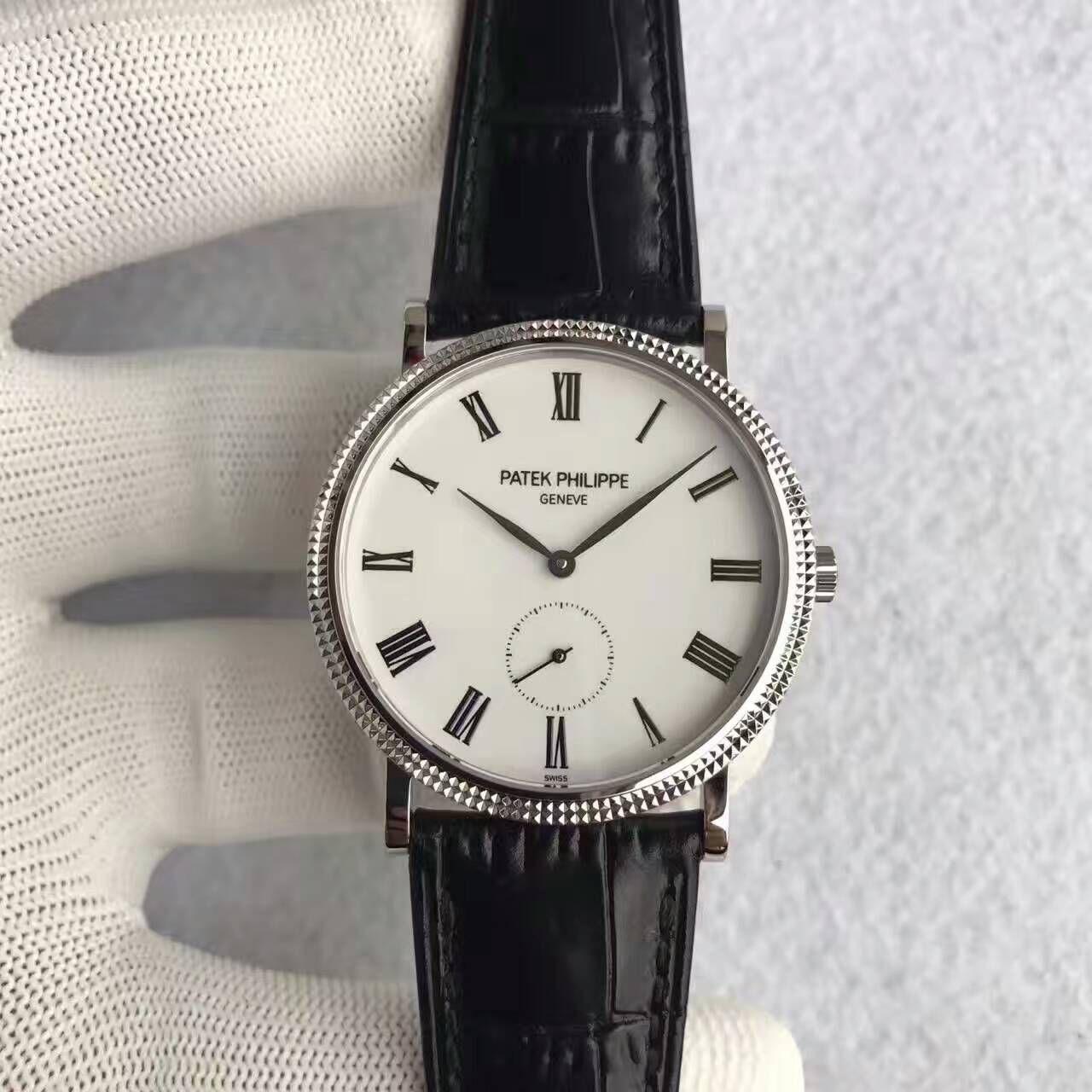 【台湾厂一比一超A精仿手表】百达翡丽古典表系列5119G-001腕表价格报价
