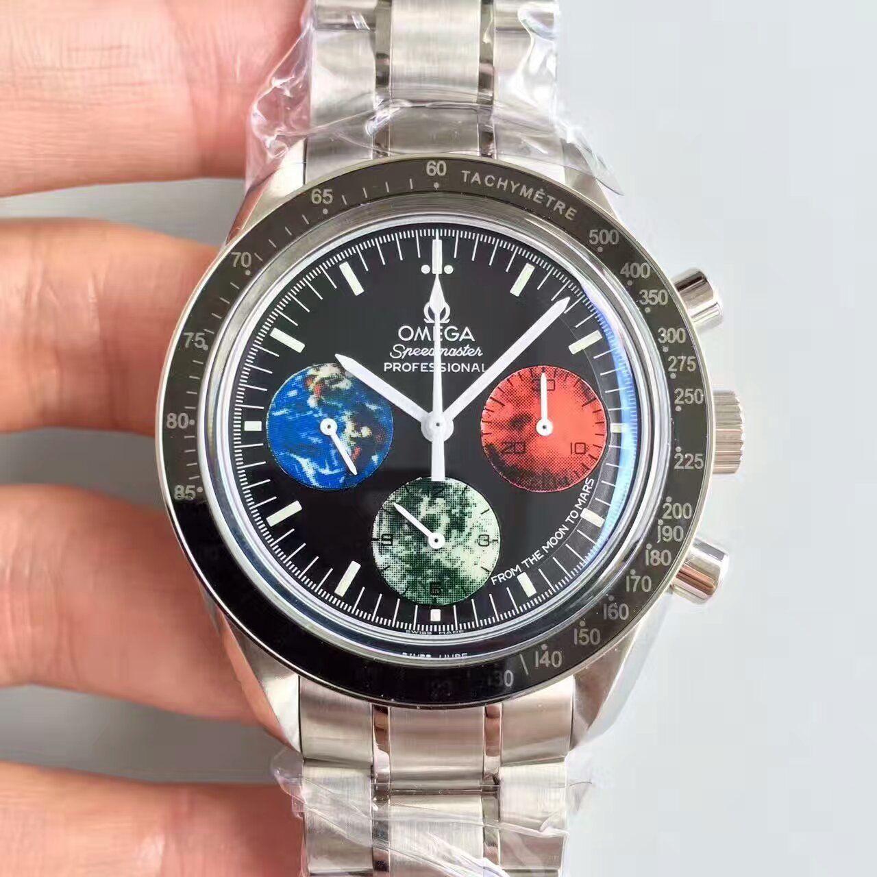 【JH厂一比一超A高仿手表】欧米茄超霸系列3577.50.00腕表