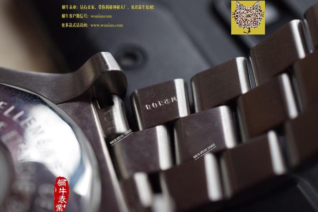 【实物图鉴赏】百年灵海狼手表 《定制版搭配原装瑞士ETA2836机芯》 / BL031