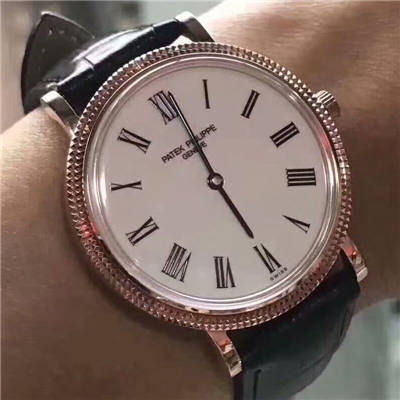 【台湾厂顶级复刻手表】百达翡丽5120Calatrava古典表系列腕表