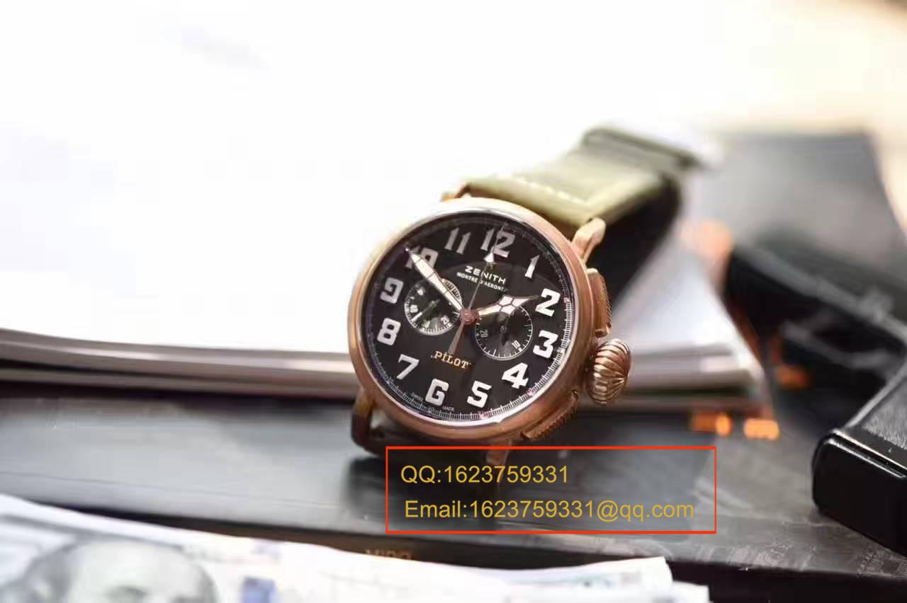【XF厂顶级复刻手表】真力时飞行员系列29.2430.4069/21.C800腕表 / ZSL030