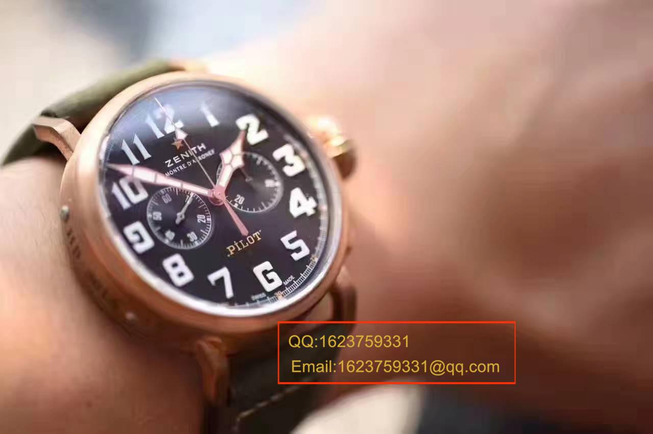 【XF厂一比一超A高仿手表】真力时飞行员系列29.2430.4069/21.C800腕表 ZSL030