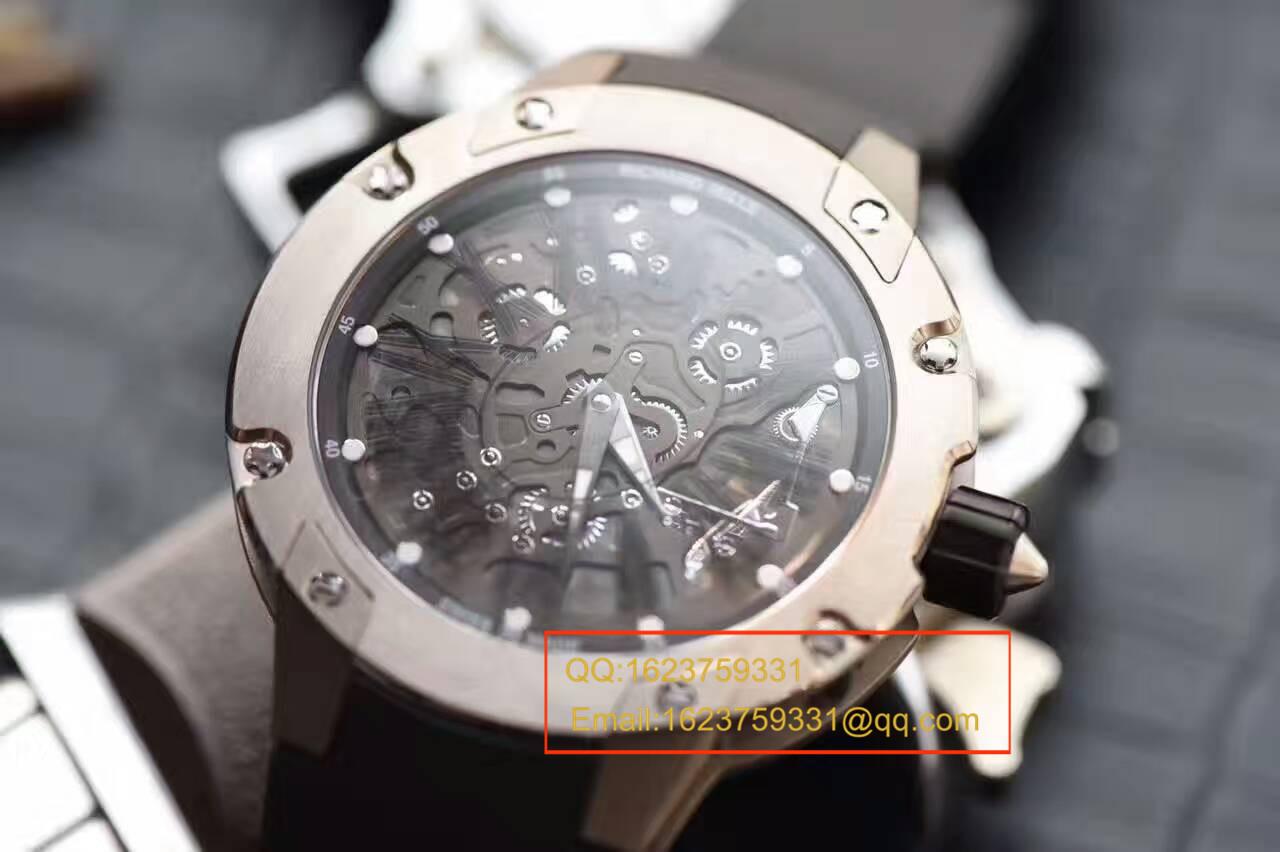 【独家视频评测SF厂顶级1:1复刻手表】理查德米勒男士系列RM 033 Ti腕表 / RMBC-033 Ti