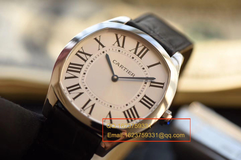 【SY一比一超A精仿手表】卡地亚DRIVE DE CARTIER 系列WGNM0007腕表