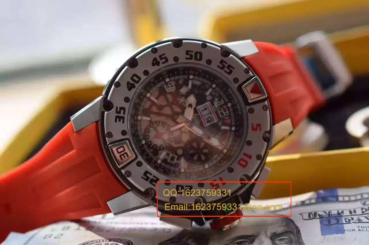 【实拍图鉴赏】RM厂复刻手表之里查德米尔男士系列RM 032 RG腕表 / RMBG032
