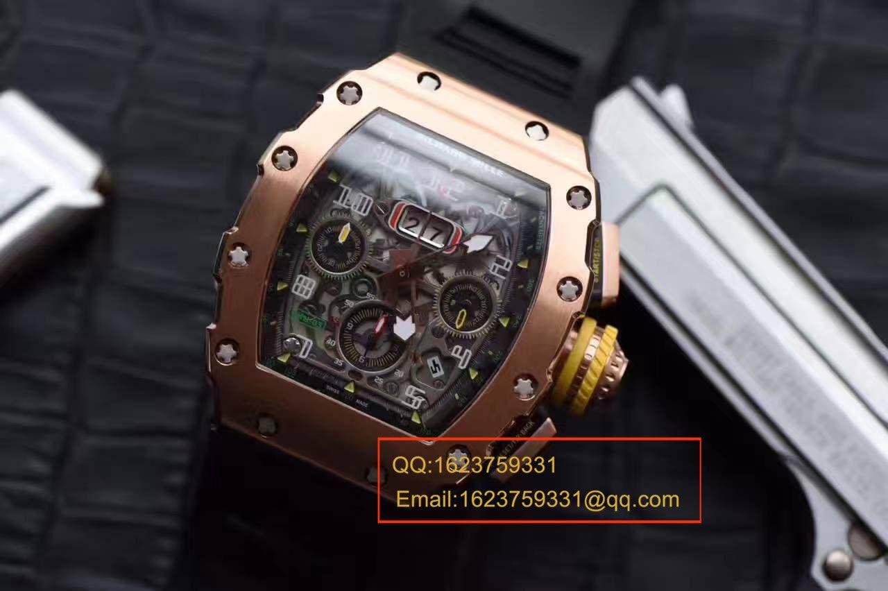 【RM厂一比一超A精仿手表】理查德·米勒男士系列RM11-03男士腕表 / RMBE11-03A