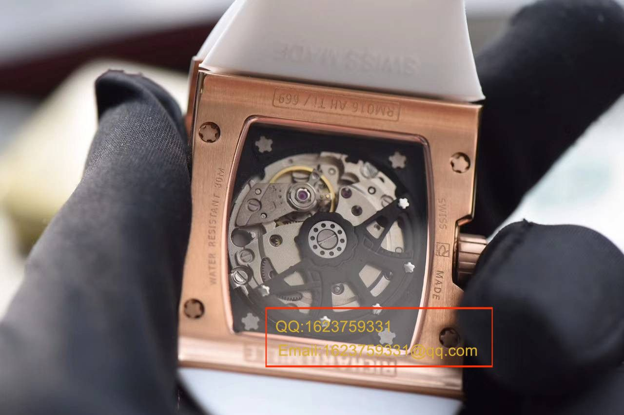 【KV一比一高仿手表】理查德.米勒男士系列RM 016腕表 / RM16