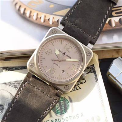 【BR一比一超A高仿手表】柏莱士AVIATION系列BR 03-92 HOROLUM 腕表