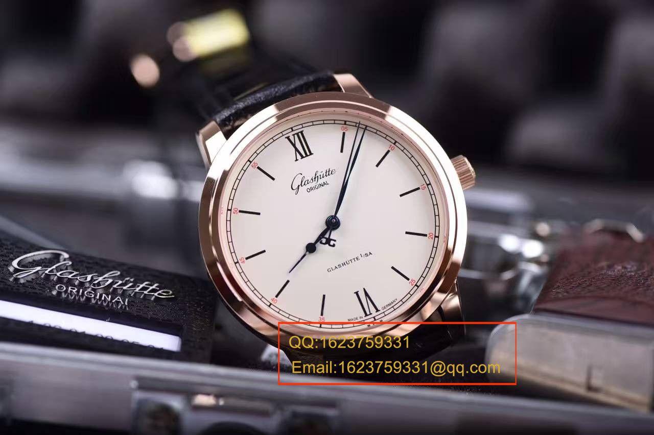 【FK厂顶级复刻手表】复刻格拉苏蒂原创精髓Senator 议员系列 1-36-01-02-05-01腕表 / GLAB014