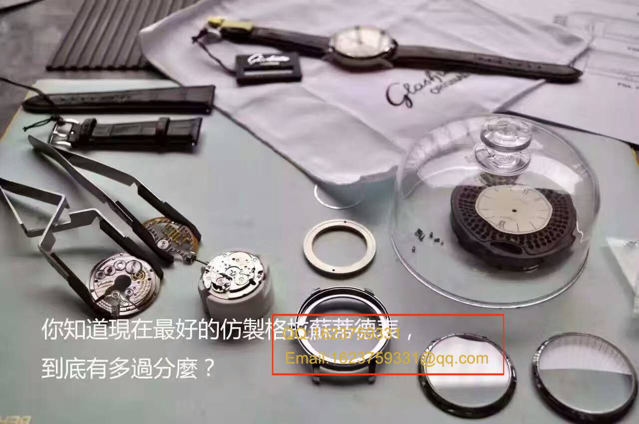 【独家视频测评】FK厂一比一超A高仿手表格拉苏蒂原创精髓系列1-36-01-01-02-01