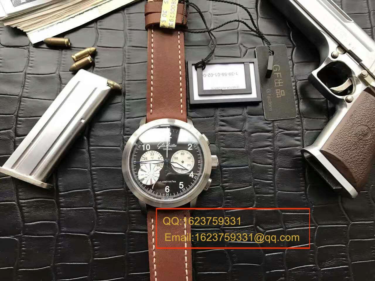 【独家视频测评】GF厂1:1超A高仿手表格拉苏蒂原创SENATOR NAVIGATOR系列39-34-07-07-04男表