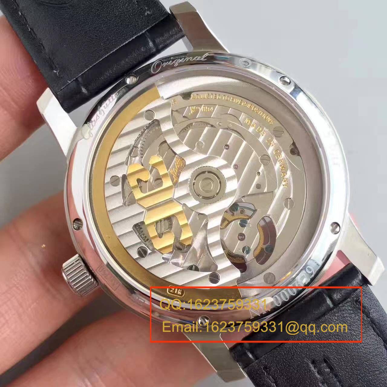 【TF厂顶级复刻手表】格拉苏蒂原创艺术与工艺系列1-94-03-04-04-04陀飞轮腕表 / GLACH040