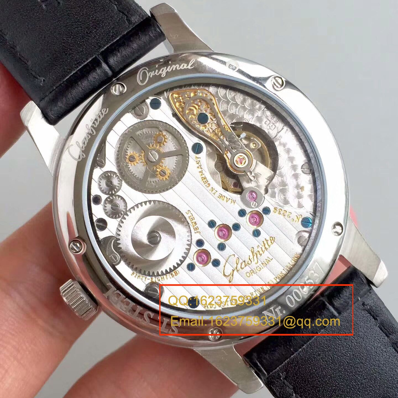 【GF1:1超A高仿手表】格拉苏蒂原创精髓议员天文台腕表系列 1-58-04-04-04-04腕表