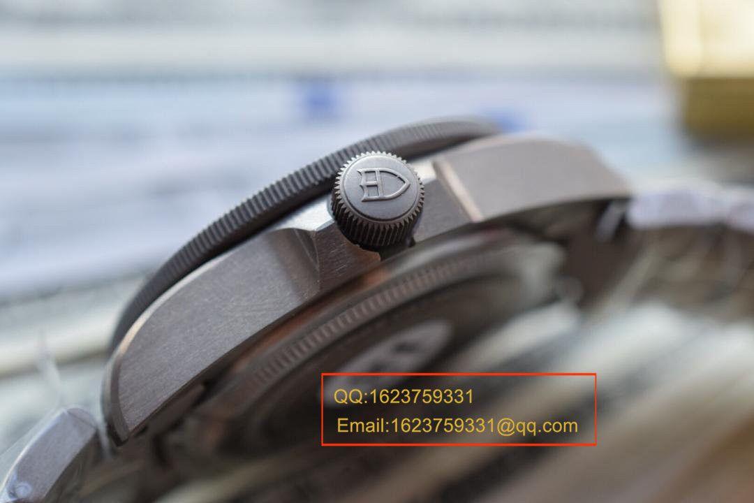 【独家视频测评XF一比一超A精仿手表】帝舵PELAGOS系列战斧25500TN 黑钛土豆黑色战斧 / DT007A