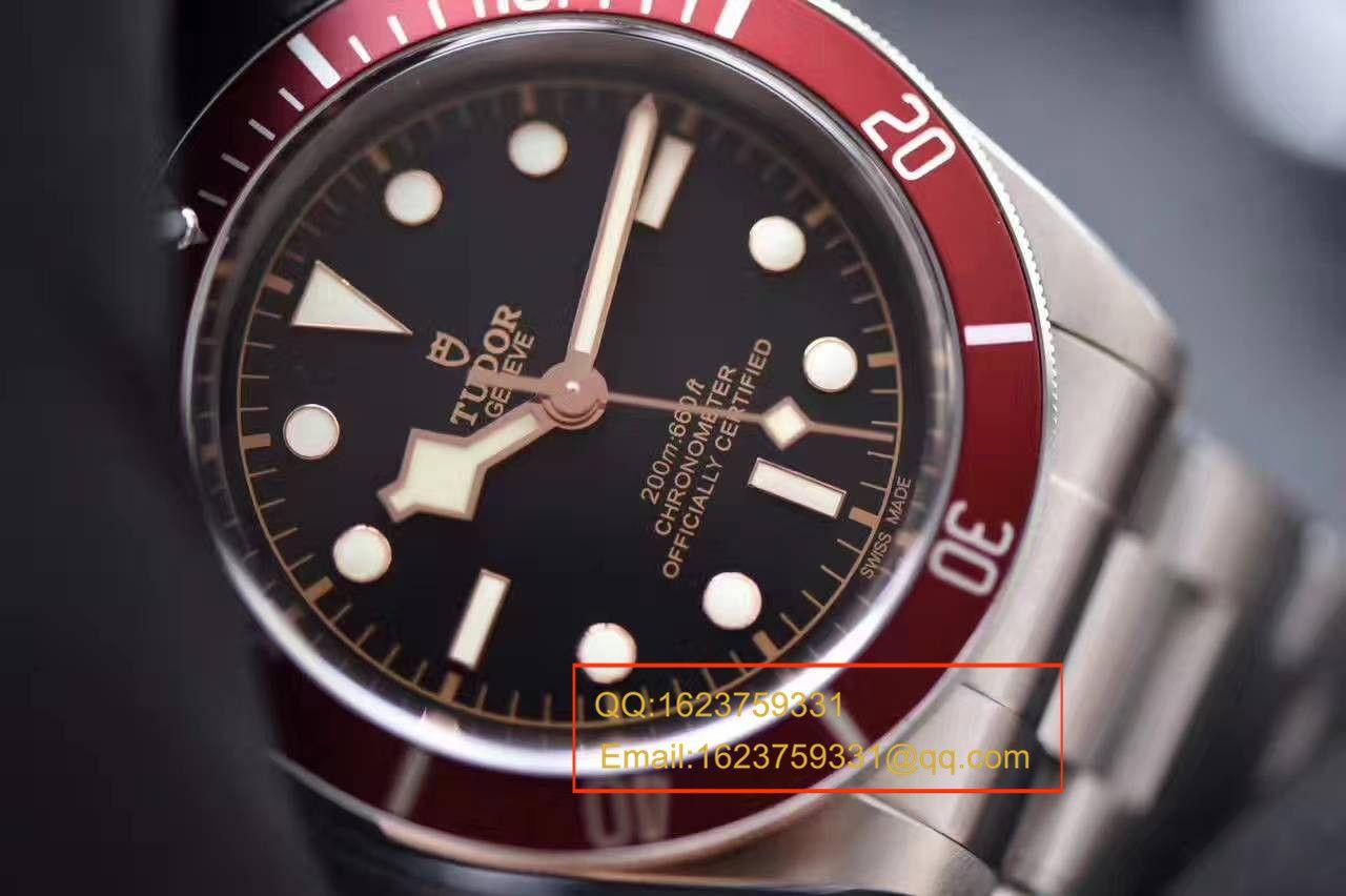 【独家视频测评一比一超A高仿手表】帝舵HERITAGE BLACK BAY系列79220R小红花 / DT009