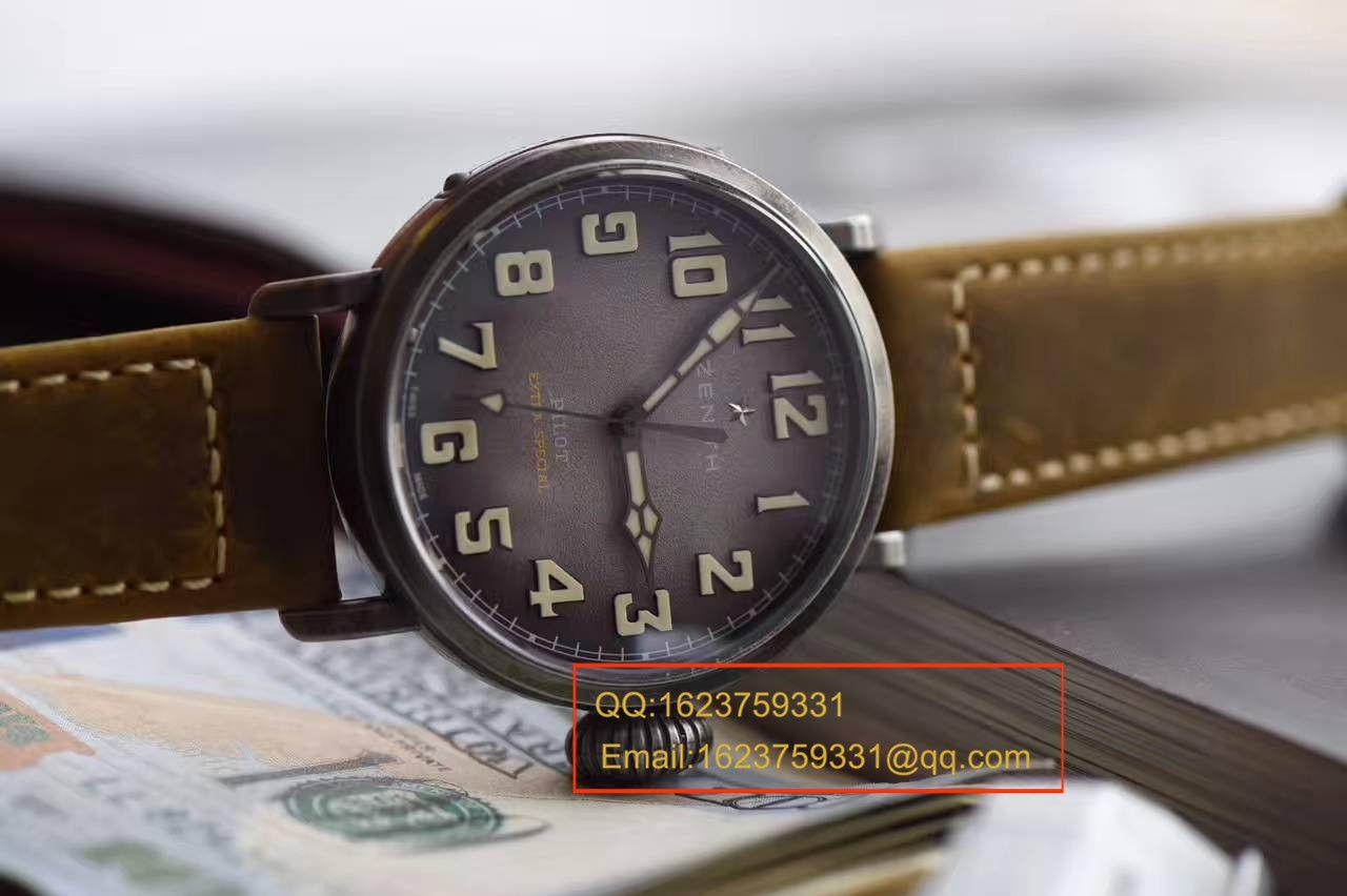 【XF厂顶级复刻手表】真力时飞行员系列11.1940.679 / 91.C807腕表 / ZSL037