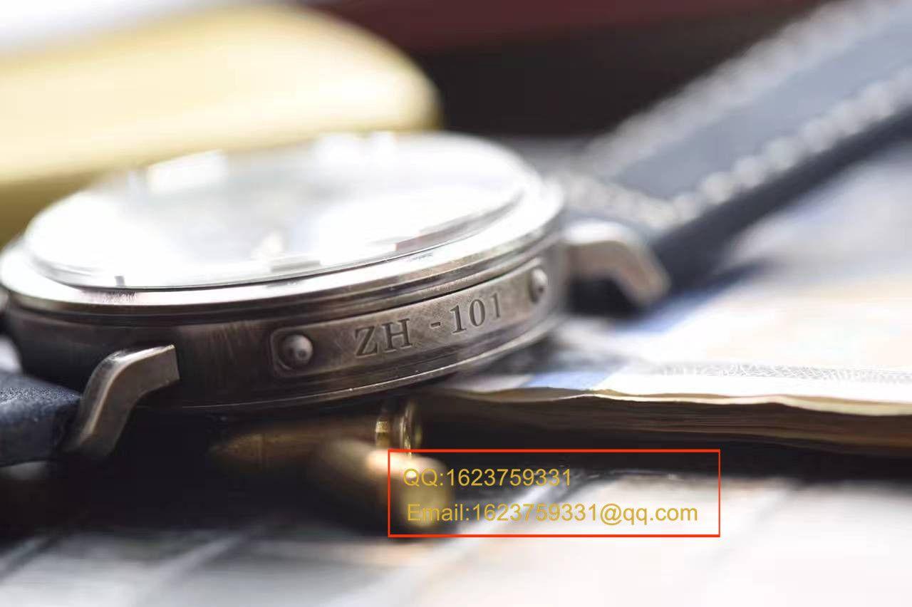 【独家视频测评XF厂一比一超A高仿手表】真力时飞行员系列11.1940.679 / 53.C808复古大飞腕表 / ZSLB034