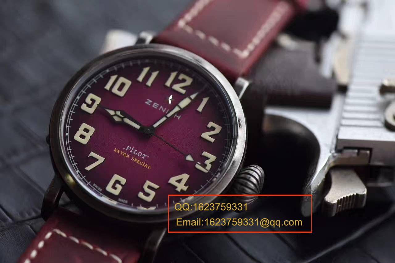 【独家视频测评XF厂复刻手表】真力时飞行员系列11.1940.679 / 53.C808复古大飞腕表 / ZSLB035