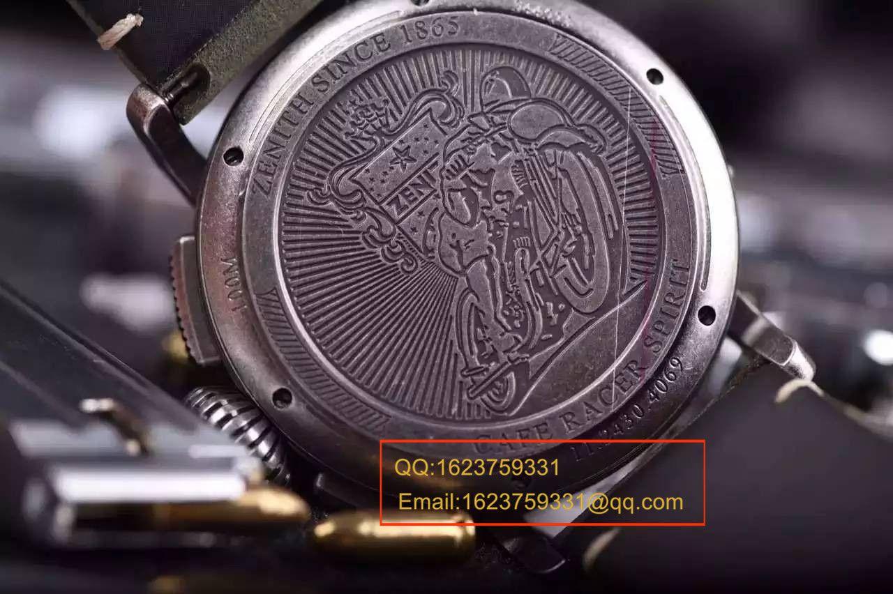 【独家视频测评】KW1:1超A高仿手表之真力时飞行员系列11.2430.4069/21.C773咖啡骑士